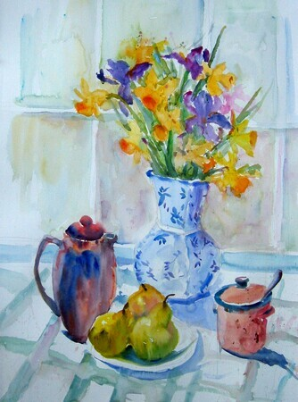 Daffodils and Pears